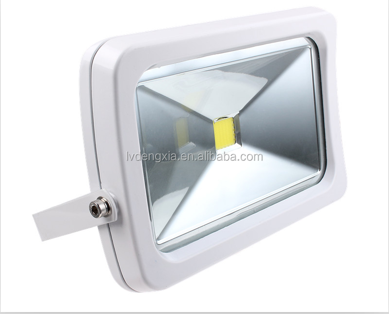 High CIR Utra Brightness Slim Cool White Warm White APD COB Led Flood Light for Tennis