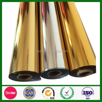 Two side Tattoo PET Silver Gold film heat insulation materials