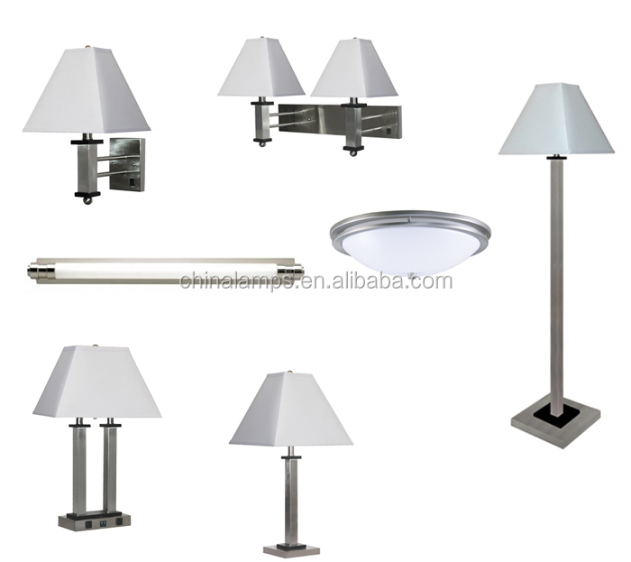America style usb hotel table lamp for hotel lighting fixtures hotel furniture UL list for five sart hotel OEM