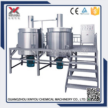 CE Certificated Cosmetic Manufacturing Plant , Chemical Blending Tank, Cosmetic Agitator Mixing Tank