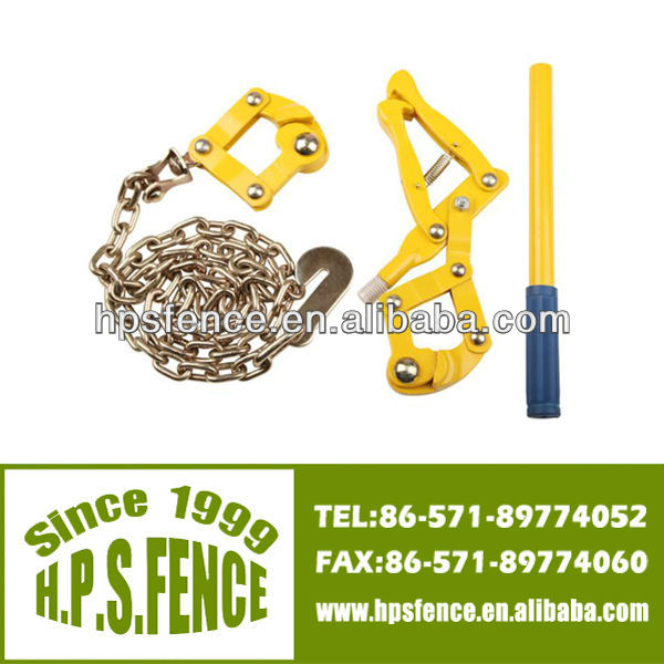 China manufacturer High tensile 1.2m galvanised chain with electric fence wire strainer wire tightening tool