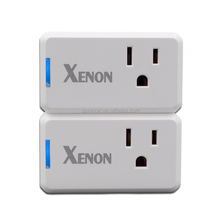 Xenon wifi smart home outlet plug switch wifi outlet intelligent power works with Amazon Alexa echo Smart plug wifi plug socket
