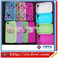 New fashion silicone headphone rubber protective cover