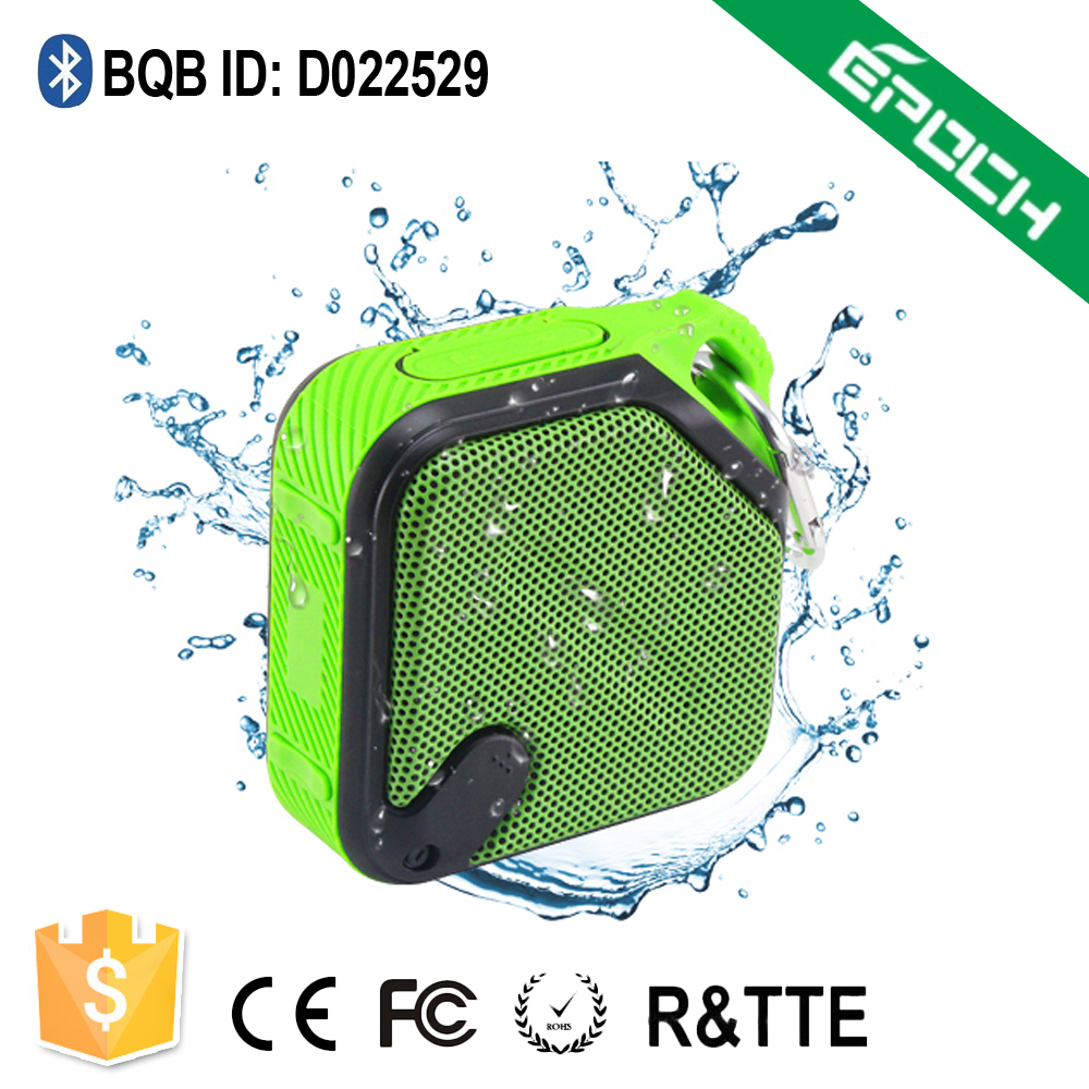 2016 New Arrival Outdoor Covers Waterproof Bluetooth Speaker IPX6