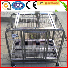 High Quality Square Tube Single-door Aluminum Dog Cages For Sale