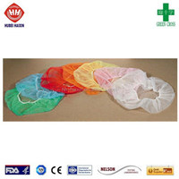 Surgical supply medical consumable item disposable bouffant cap disposable hospital caps