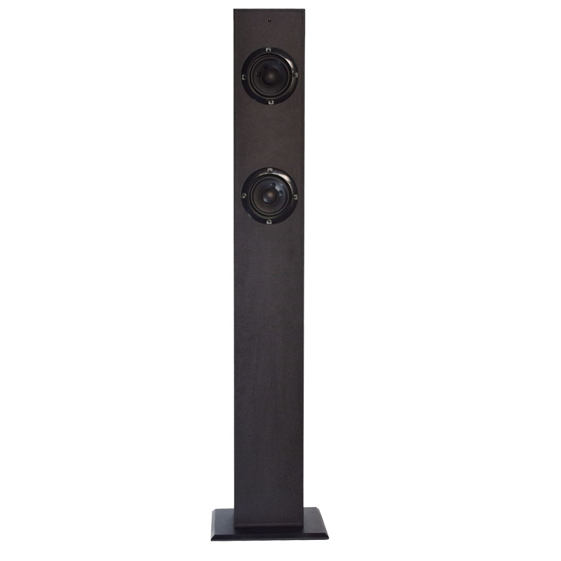 2.0 Active hi fi floor standing tower speakers for mobile phone ,home use