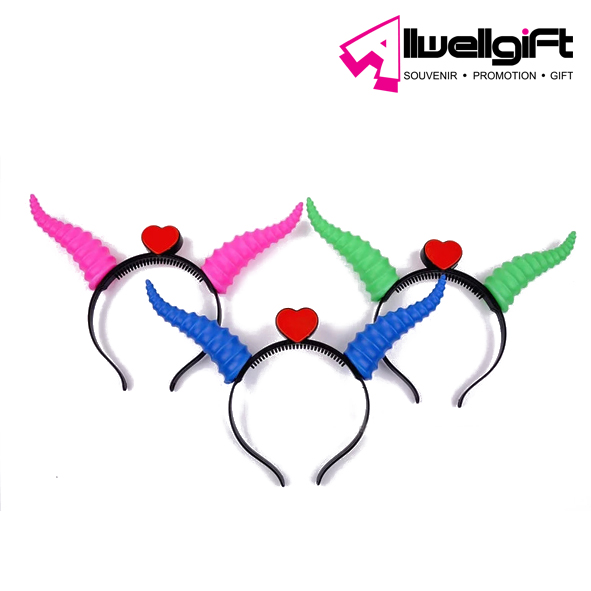 creative led Ox horn party flashing hair band