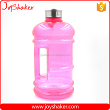 BPA free Big 2.2L Half Gallon PETG Sport Water Bottle Jug with Handle from JoyShaker Factory