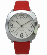 Girl PU leather quartz watch with great dial noval women watch