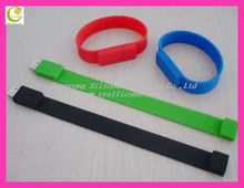 Promotion Gift&Business Manufacture Silicone Medical Bracelet USB,High Speed Silicone Wristband USB 2.0