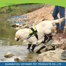 Lovoyager High quality customized dog shoes pet waterproof boots low price