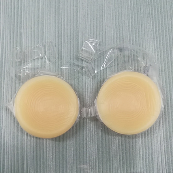 Round Shape Silicone Artificial Breast Forms False Boobs for Cross Dressing Shemale