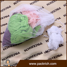 Salvage use choose vegetable and fruit packing wholesale mesh laundry bag