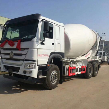 Sinotruk Howo Mini mobile concrete mixer truck low price for sale