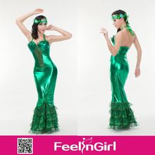 Fast delivery cheap Hallowen adult mermaid costume