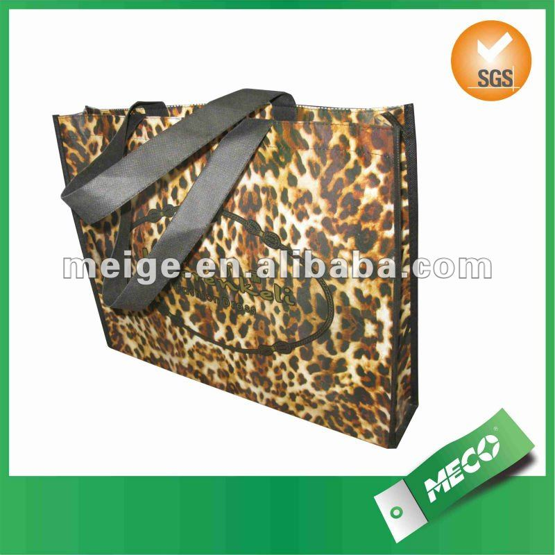 wholesale zebra print shopping bag