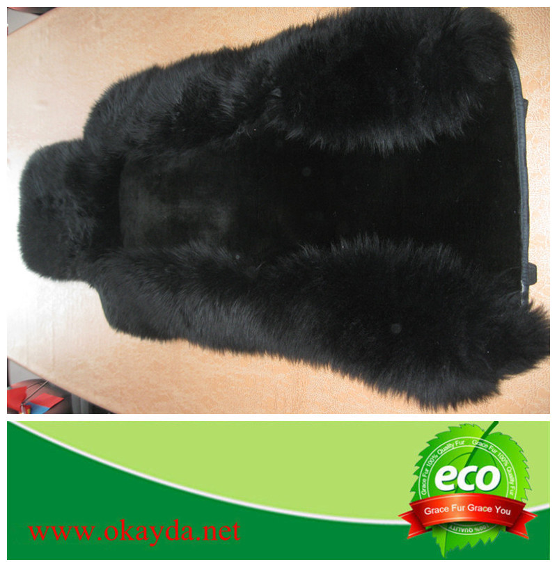 Cheap price sheep fur car seat cover, accessories for car