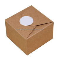 High Quality folding mini cupcake paper boxes