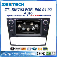 "ZESTECH For bmw e90 car dvd player with gps navigation 7"" HD LCD digital touch screen wince 6.0 A8 chipset AUTO A/C"