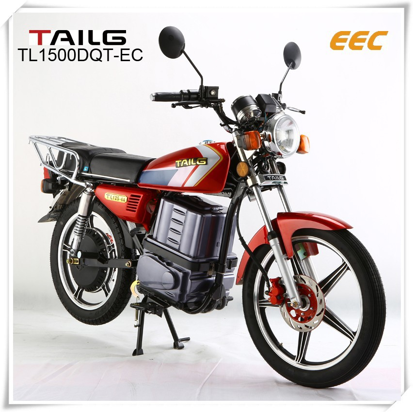 1500W / 2500W electric motorcycle with high climb ability and long range