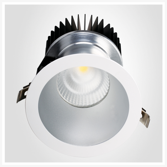 Factory Directly Supplied 90Ra 100lm/w Commercial COB LED Dowmlight 22W 28W 30W 35W 38W 40W 50W 60W 70W 6inch 8inch 10inch