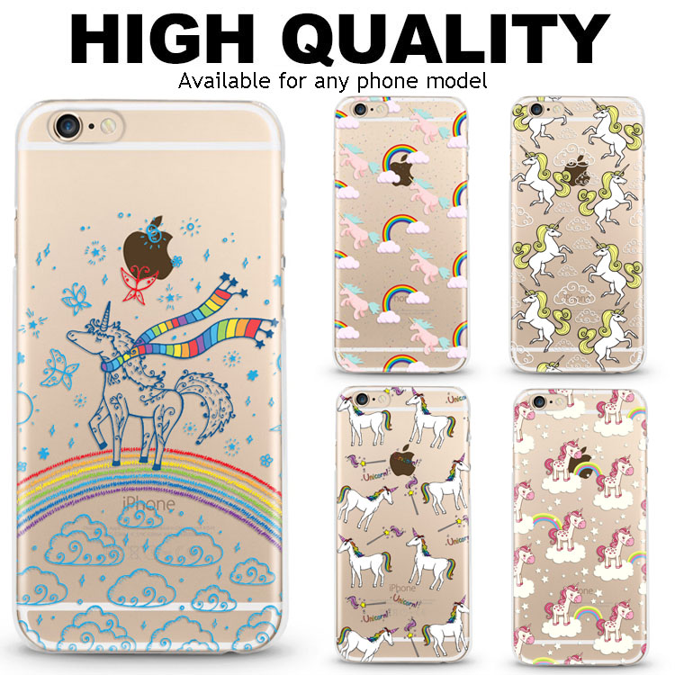 Phone accessory soft tpu mobile smartphone covers for iphone 6 case transparent for iphone 7plus for galaxy s8 phone shell