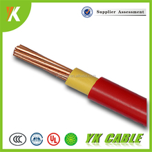 Multi Stranded Copper Electrical PVC wire 10mm 6mm flexible cable