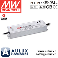 Meanwell 150W 42V 3.6A Constant Voltage IP67 LED Driver HLG-150H-42 SMPS