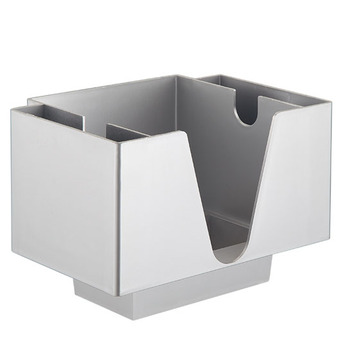Rectangle ABS/PS Plastic Bar Caddy Napkin Holder