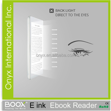 new innovative items e-ink touch screen ebook reader 6 inch android 2.3