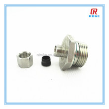 "Best-selling stainless steel 316 3/8"" NPT male thread tube end reducer"