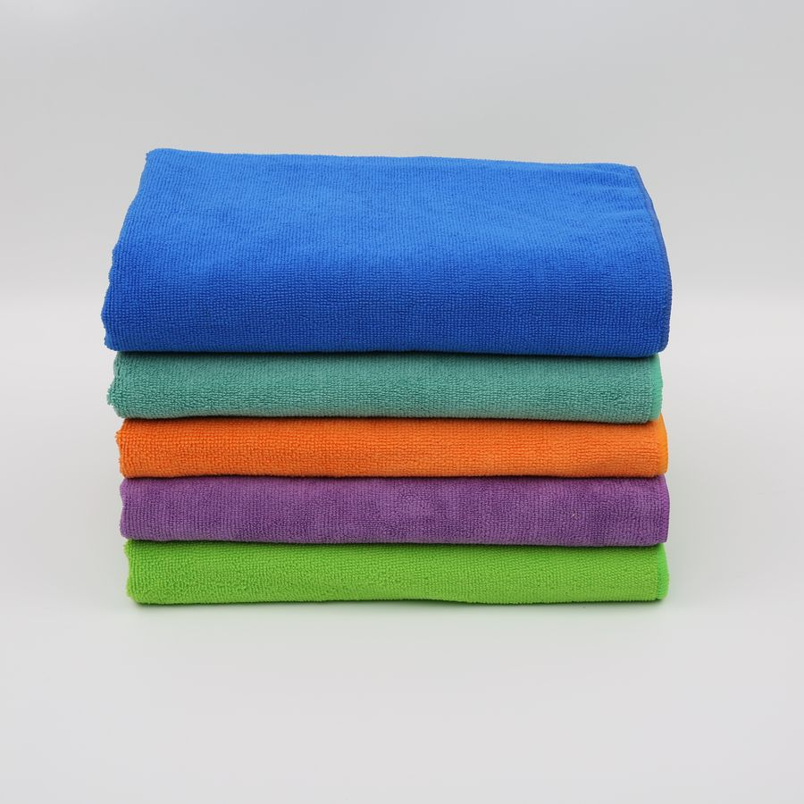Wholesale cheap price compressed outdoor gym towels quick dry microfiber sports towel