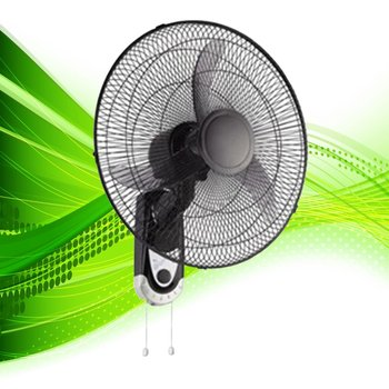 "18"" mechanical wall fan, fan wall, high temperature fan"