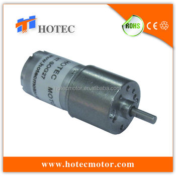 Long Life Mini 27mm Dia Gearbox Small High Torque Battery