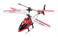 Red Syma S107G 3 Channels Gyroscopic Remote Control Mini RC Drone Helicopter