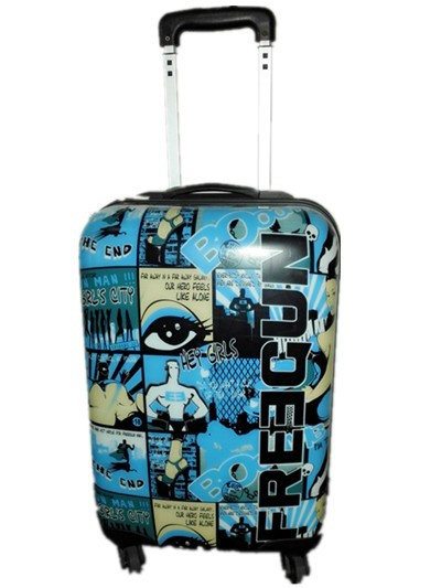 Abs PC rolling suitcase luggage suitcase