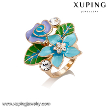 14429-cheap bulk jewelry 18k gold pretty ring designs for girls