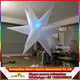 led star inflatable lighted Christmas decoration inflatable beauty star