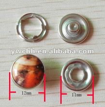Pearl five prong snap button fashion design snap button for clothes
