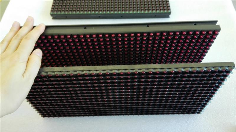 DIY YOUR OWN LED SIGN! hot sell semioutdoor outdoor led red led module red, green, yellow, white color led display p10