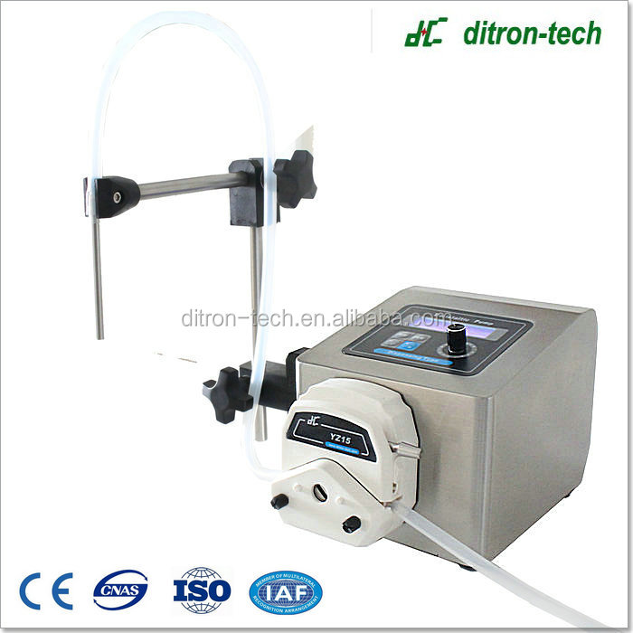 High viscosity E liquid filling peristaltic pump