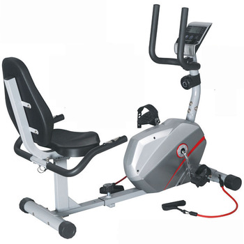 GS-8317R-2 New Design Indoor Magnetic fitness recumbent exercise bike