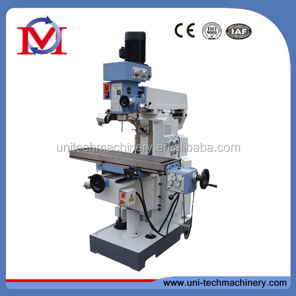 China milling machine with mechanical power feed