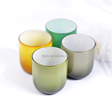 The Wholesale Colored Glassware Types of Drinking Glasses for Home Decor