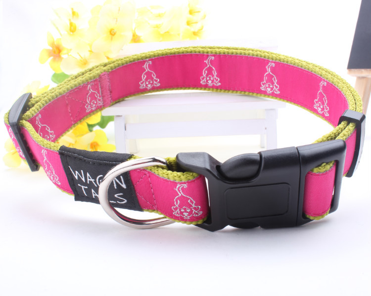 China wholesale customized woven leather dog leads