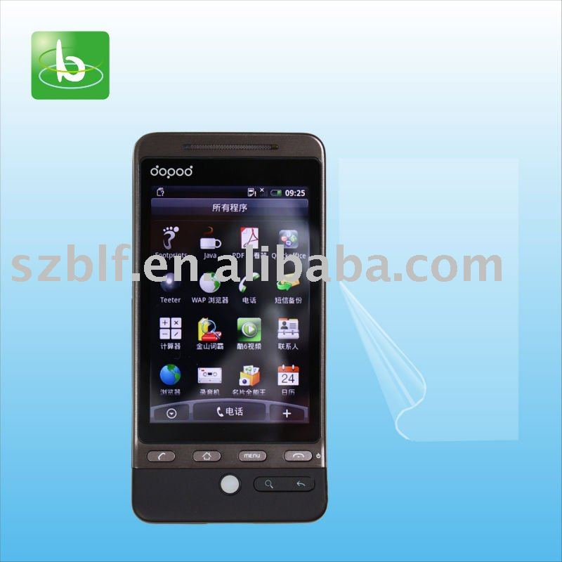 Scratch proof anti glare film for cell phone HTC G3 Hero A6288