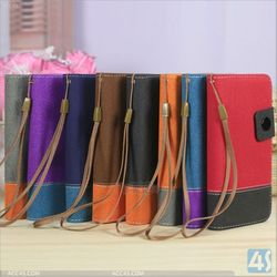 Fix color leather case with hand line for Blackberry Z10