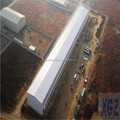 steel fabrication workshop layout pig farm construction in South Africa