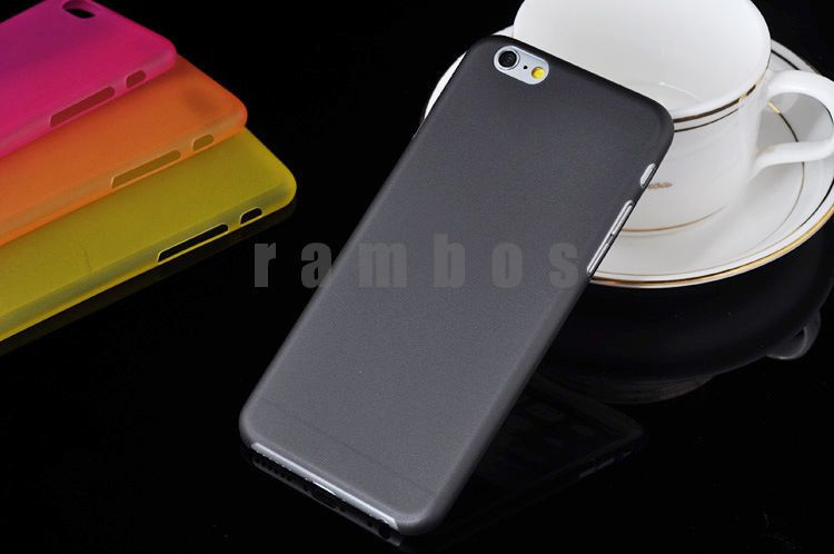 Frosted Clear Hard Case 0.3mm Mobile Phone Cover for Samsung Galaxy S3 S4 Mini Note 2 3 for HTC One M7 M8 for Sony Z Z1
